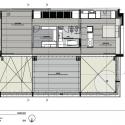 Casa Ibiray / Oreggioni Prieto Upper Floor Plan