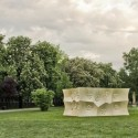 HygroSkin-Meteorosensitive Pavilion / Achim Menges Architect in collaboration with Oliver David Krieg and Steffen Reichert HygroSkin-Meteorosensitive Pavilion / Achim Menges Architect in collaboration with Oliver David Krieg and Steffen Reichert