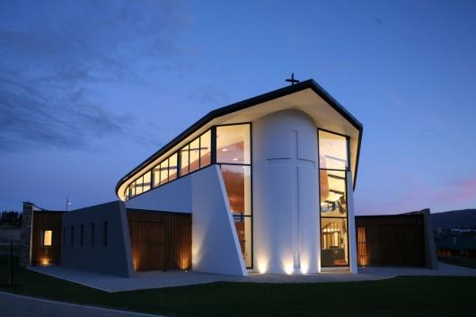 Wanaka catholic church sarah scott architects ltd for Arch design architects limited