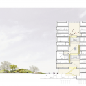 SANAA's 'Cloud Boxes' Wins First Prize in Taichung City Competition Honorable Mention