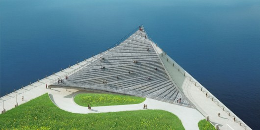 designs pier viewing platform brooklyn waterfront