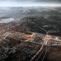 Architects to Relocate Entire City Two Miles Over 'Kiruna 4-Ever' plan. Image Courtesy of White