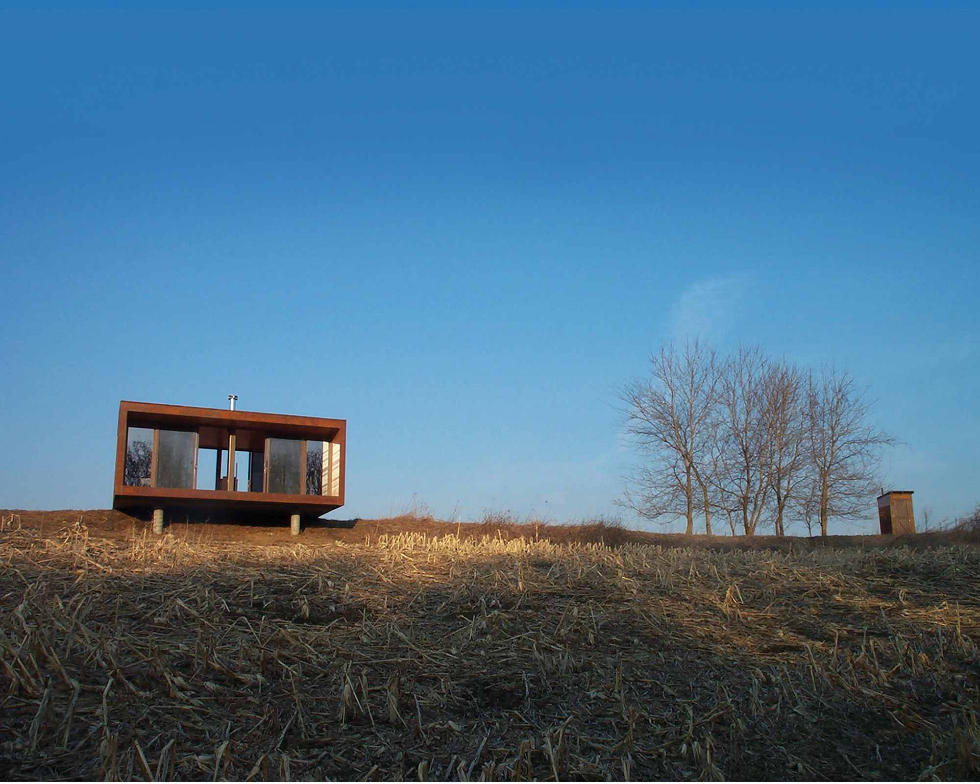 Weehouse the 10th anniversary of the prefab mini home for Prefab lake homes