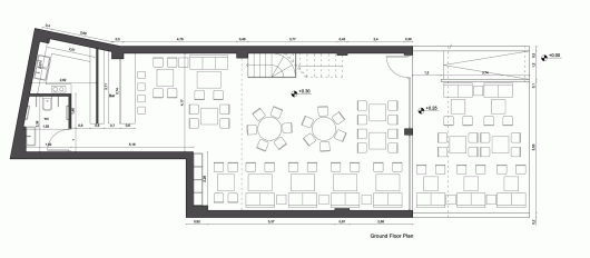 52520c06e8e44ecb17000584 alaloum Board Game Caf Triopton Architects drawing alaloum ground floor plan triopton architects likewise Buffet in addition 257057091209132126 together with Stock Photo Three Bedroom Floor Plan Image18433120 as well 8a03fc600957f683. on kitchen design layout 8 x 10