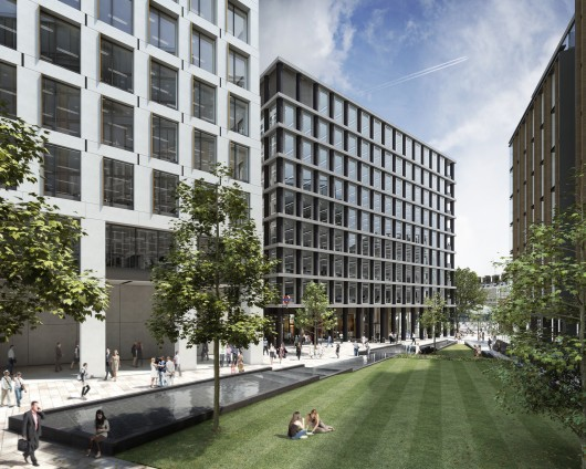 Gridiron One St Pancras Square David Chipperfield
