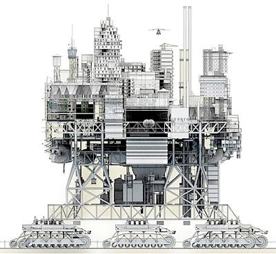 معماری شهر متحرک در قرن 21