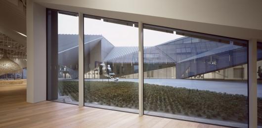 معماری موزه،طراحی داخلی موزه،پلان موزه