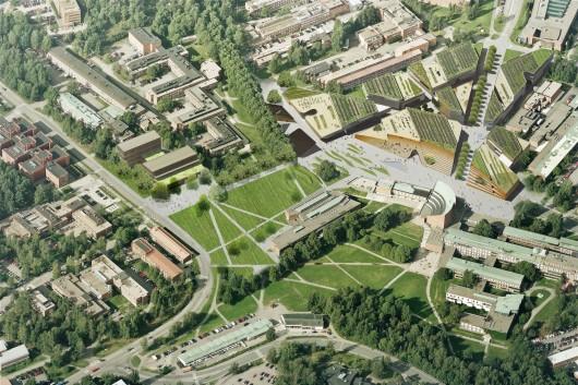 Hipsterkasbah (Otaniemi Campus, Aalto University) / ALA Architects | ArchDaily