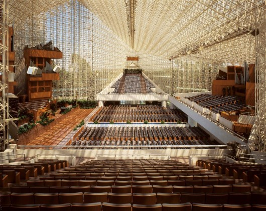 Ad Classics The Crystal Cathedral Philip Johnson Archdaily