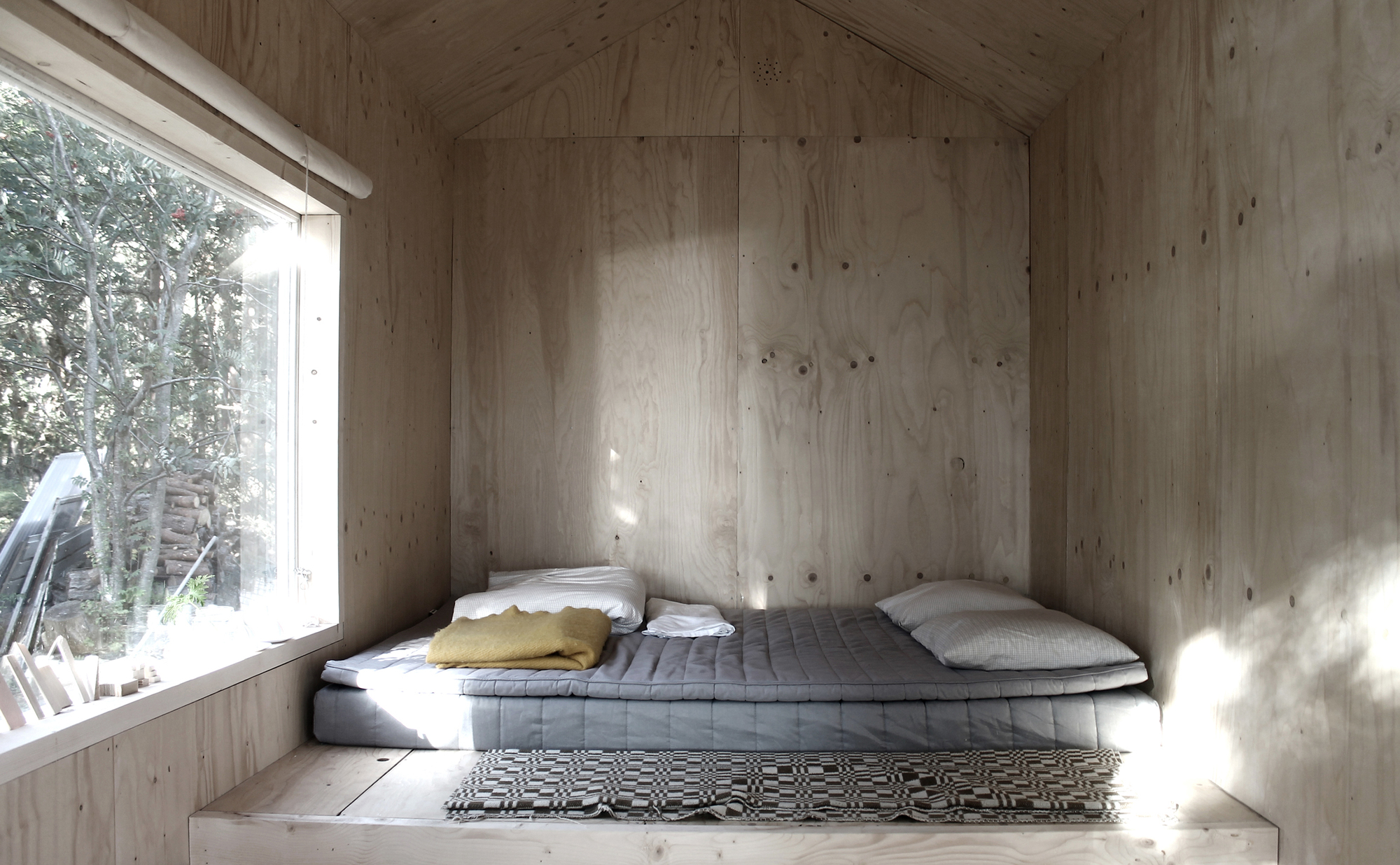 Small Cabin in the woods of Trossö, Sweden, by Septembre Architecture