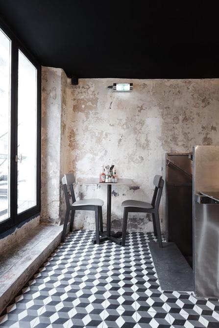 paris new york restaurant cut architectures. Black Bedroom Furniture Sets. Home Design Ideas