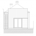 Brunswick House / Christopher Botterill East Elevation