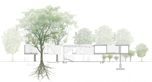 معماری سبز دفتر کار Huaxin
