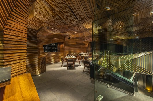 طراحی رستوران  Auruga