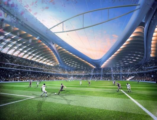 ورزشگاه جام جهانی 2022 قطر-زاها حدید