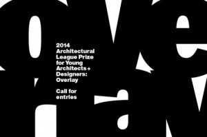 Call for Entries: 2014 Architectural League Prize