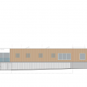 The House of the Early Childhood / TOPOS ARCHITECTURE West Elevation