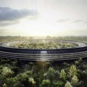 Which Architects Are Most Admired By Other Architects? Foster + Partner's Apple Campus II. Image © City of Cupertino