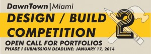 DawnTown Announces 2nd Design/Build Competition