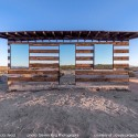 "Lucid Stead: A ""Disappearing"" Cabin of Mirrors © Steven King"