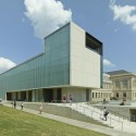 Vol Walker Hall & the Steven L Anderson Design Center / Marlon Blackwell Architect © Timothy Hursley