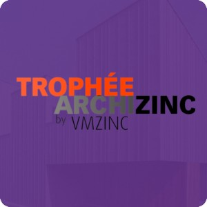 Submit your VMZINC project for the next ArchiZinc Trophy Awards by December 31