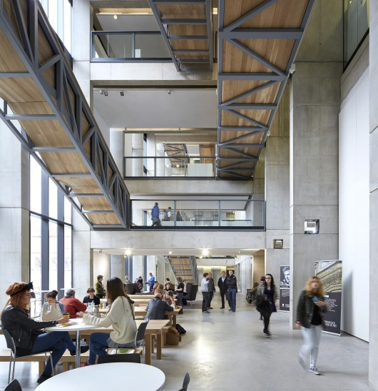 Manchester school of art feilden clegg bradley studios for Metropolitan school of interior design