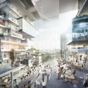 BIG, OMA, Büro-OS To Compete for New Media Campus in Berlin Proposal from Büro-OS. Image Courtesy of Axel Springer SE