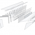 Under Armour / Marc Thorpe Design Exploded Axonometric