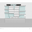Mythos Building / ARX Longitudinal Section