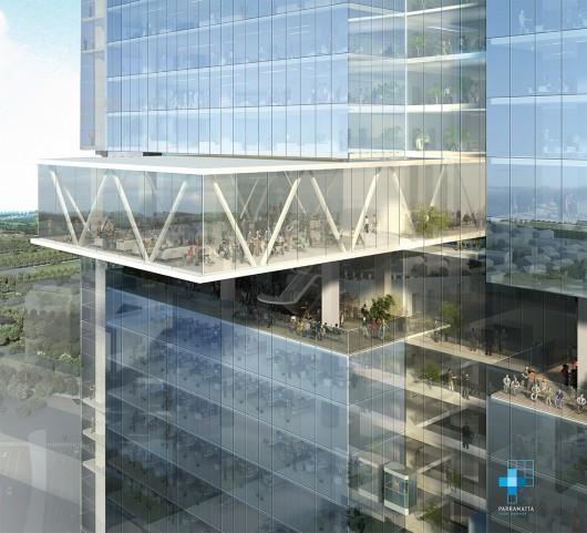 برنده مسابقه طراحی برج پاراماتا