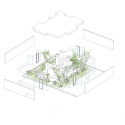 Green Edge House  / ma-style architects Exploded Axonometric