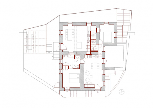 Conversion of castel mirabel in olgiasca met architektur - Architektur plan ...