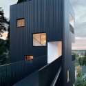 Tower House / Benjamin Waechter Architect © Lara Swimmer