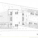 Nanjing Drum tower Hospital  / Lemanarc SA Third Floor Plan