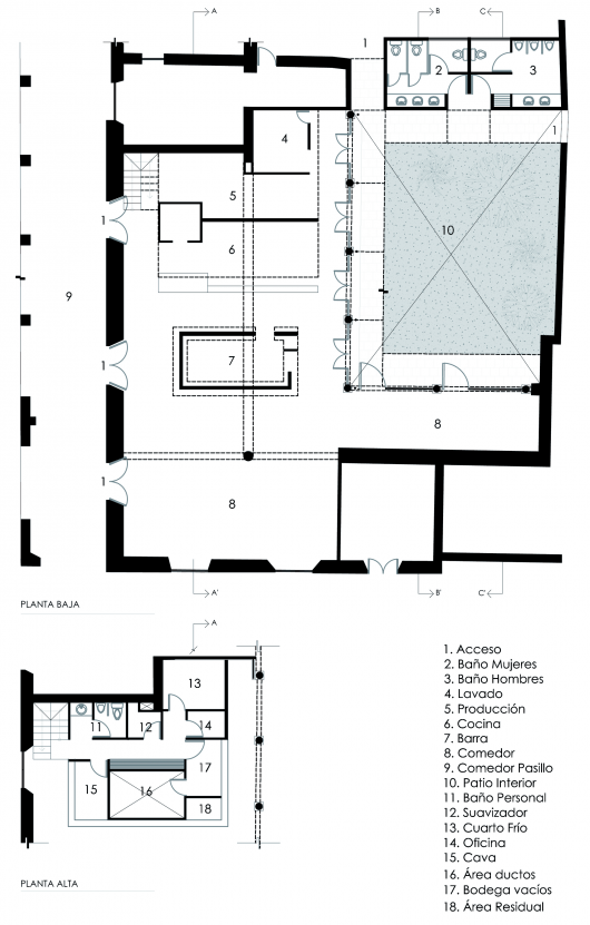 la tratto santa luc a dox arquitectos archdaily
