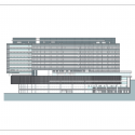 Bundang Seoul National University Hospital / JUNGLIM Architecture Elevation 2