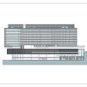 Bundang Seoul National University Hospital / JUNGLIM Architecture Elevation 2