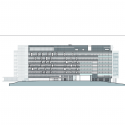 Bundang Seoul National University Hospital / JUNGLIM Architecture Elevation 4