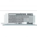 Bundang Seoul National University Hospital / JUNGLIM Architecture Elevation 4