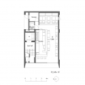 Grass Building / Ryo Matsui Architects Floor Plan 1