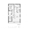 Grass Building / Ryo Matsui Architects Floor Plan 4
