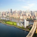 New Images Unveiled of Cornell Tech's Roosevelt Island Campus © Kilograph