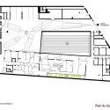 School Group and Student Housing / Atelier Phileas Basament Floor Plan
