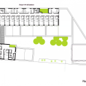 School Group and Student Housing / Atelier Phileas Fifth Floor Plan