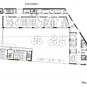 School Group and Student Housing / Atelier Phileas First Floor Plan