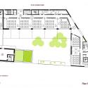 School Group and Student Housing / Atelier Phileas Second Floor Plan