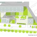 School Group and Student Housing / Atelier Phileas Roof Floor Plan