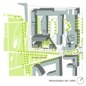 School Group and Student Housing / Atelier Phileas Site Plan