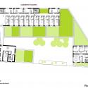 School Group and Student Housing / Atelier Phileas Third Floor Plan